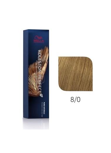 Wella Koleston Perfect Me+ Tüp Boya 60 Ml 8/0 Doğal Açık Kumral Renksiz